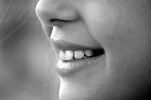 woman face stubble